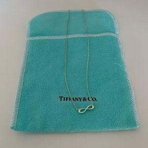 Tiffany Infinity Pendant Necklace